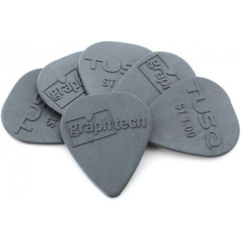 Graph Tech Graphtech TUSQ A5 1.0mm Grey Guitar Plectrum 6-Pack