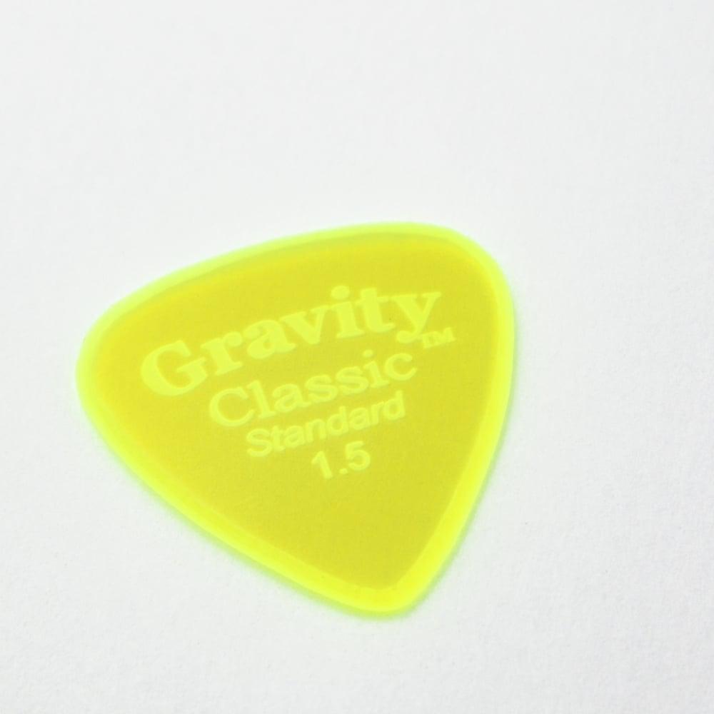 Gravity Sunrise Polished Guitar Pick 1.5mm