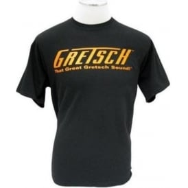 "Gretsch ""That Great Gretsch Sound"" T-Shirt - Black - Size Large"