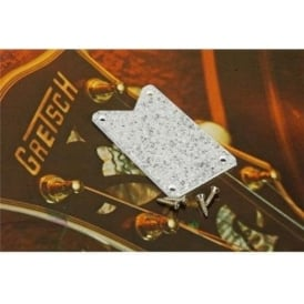 Gretsch Silver Falcon Silver Glitter Truss Rod Cover