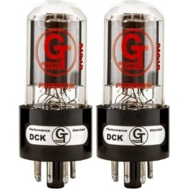 Groove Tubes GT-6V6-R Medium Power Amplifier Tube, Matched Pair (2)