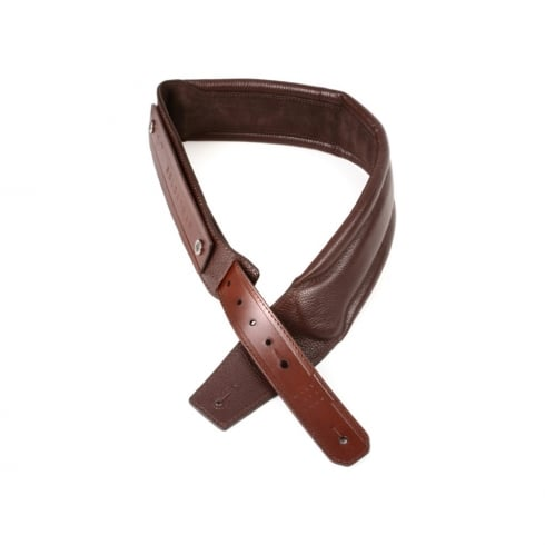 """GRUV GEAR Chocolate Solostrap 2.5"""" Wide Neoprene Strap for Guitar or Bass"""