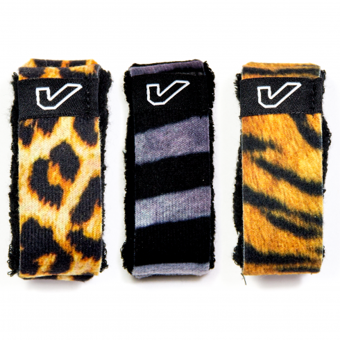 GRUV GEAR Gruv Gear® FretWraps™ HD String Muter Wild Mixed Animal Print  Pack of 3