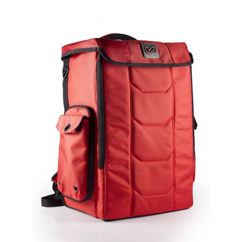 "GRUV GEAR New Stadium Red Carry Bag - taller to fit 19"" rackmount gear"