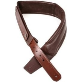 Gruv Gear SoloStrap Garment Leather Guitar Strap, Chocolate