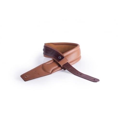 GRUV GEAR SoloStrap Garment Leather Guitar Strap, Tan