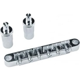 Guitar Man Chrome Tunomatic Bridge for Les Paul Type Guitars