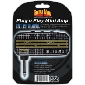 Guitar Man Plug 'n' Play English Channel Headphone Amplifier
