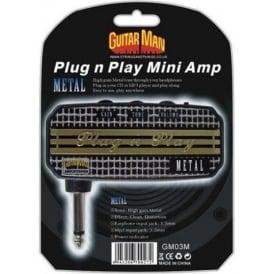 Guitar Man Plug 'n' Play Metal Headphone Amplifier
