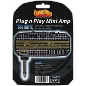 Guitar Man Plug 'n' Play Tube Drive Headphone Amplifier