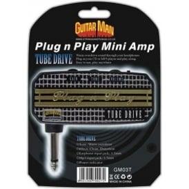 Guitar Man Plug 'n' Play Tube Drive Headphone Amplifier