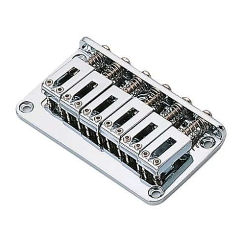 Strat Type Standard Chrome Electric Guitar Bridge
