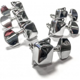 Guitar Tech GT417 Steel String 3x3 Chrome Tuners Machineheads