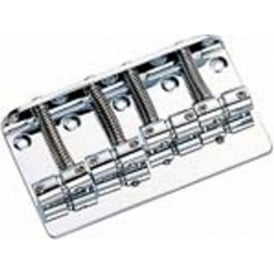 Guitar Tech Bass Bridge in Chrome P & JB Type Bass Guitars GT823