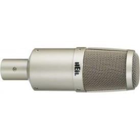 Heil Sound PR-30 Silver Large Diaphragm Multipurpose Dynamic Microphone