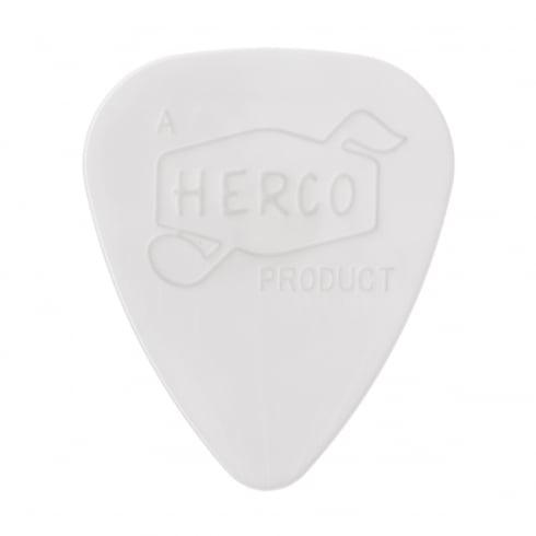 Herco '66 Reissue Nylon Extra Light White Guitar Plectrum - 6 Pack