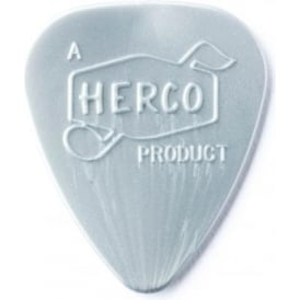 Herco '66 Reissue Nylon Heavy Silver Guitar Plectrum 6-Pack