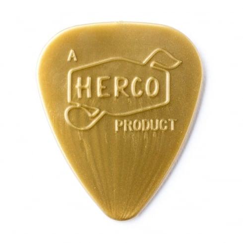 Herco '66 Reissue Nylon Light Gold Guitar Plectrum 6-Pack