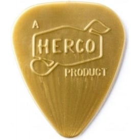 Herco '66 Reissue Nylon Light Gold Guitar Plectrum 6-Pack