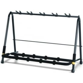 Hercules GS525B 5-Way Folding Guitar Stand Rack for Guitar and Bass