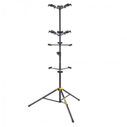 "Hercules GS526B Autograb 6-Way Guitar and Bass Stand, ""Tree Style"" with Auto Grab Hangers"