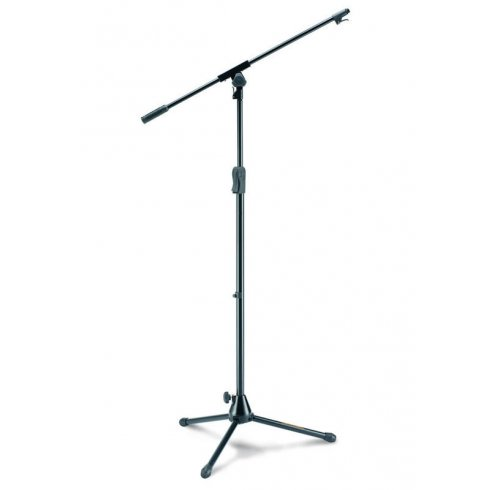 Hercules MS531B Microphone Boom Stand with Tripod D/Cast Base (Formally MS631B)