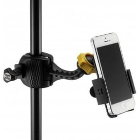 Hercules DG200B Smart Phone Microphone Stand Grab - Clamp Holder for on Stage