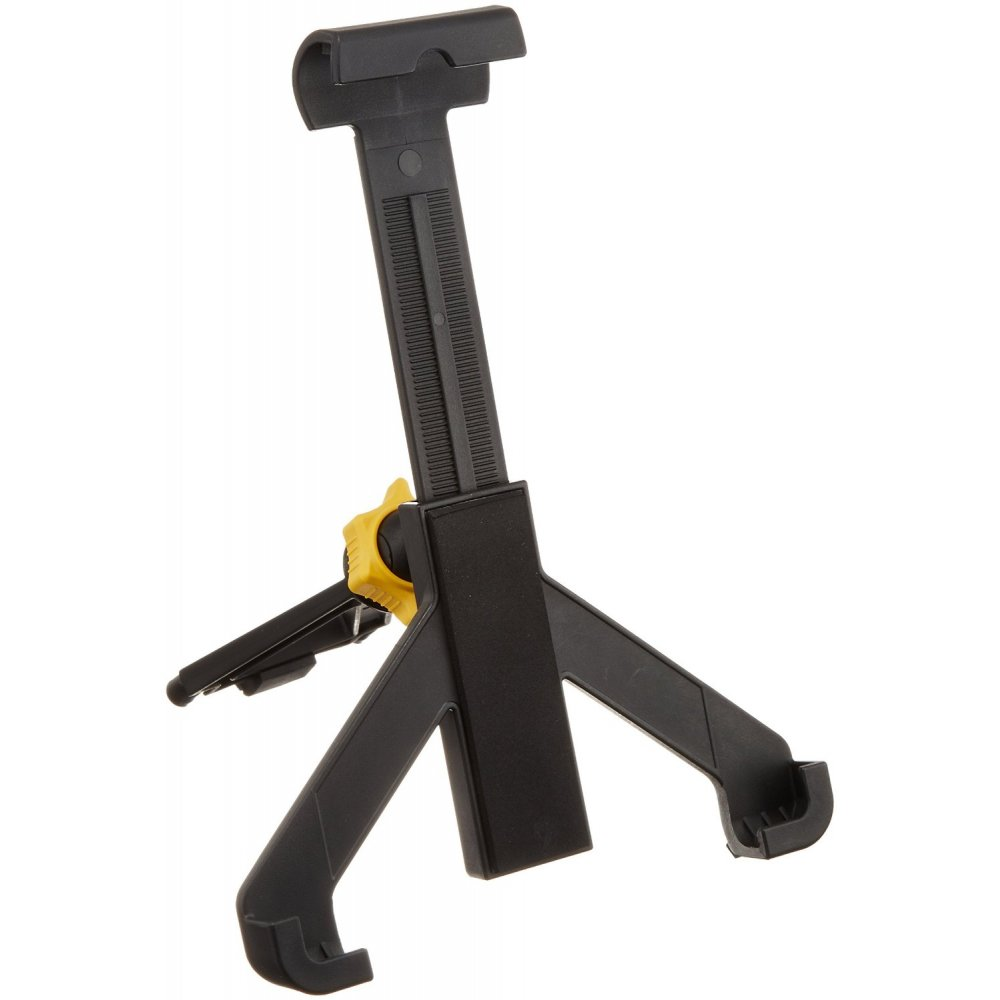 hercules ha300 tabgrab tablet ipad holder attaches to music stand. Black Bedroom Furniture Sets. Home Design Ideas