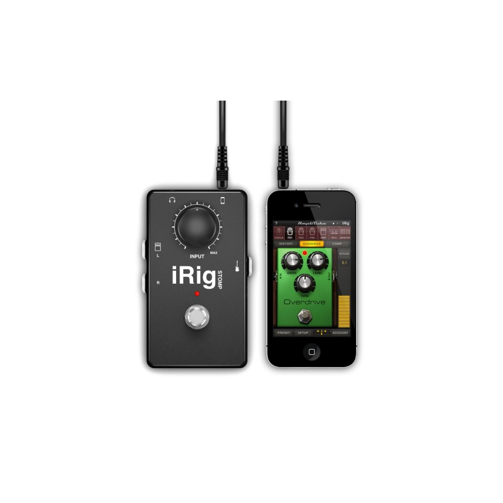 irig stompbox guitar interface for iphone ipod touch ipad. Black Bedroom Furniture Sets. Home Design Ideas