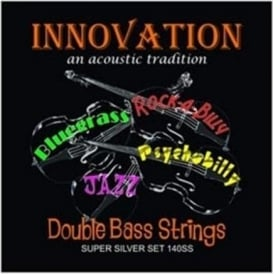 Innovation 140SS Super Silver Double Bass Guitar Strings - Made in the UK