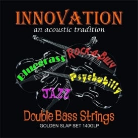 Innovation 140GLP Golden Slap Rockabilly Double Bass Strings