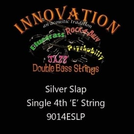 Innovation Silver Slap Double Bass Rockabilly E-4th Single String