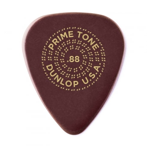 Jim Dunlop 0.88mm Primetone Standard Sculpted Pick 3-Pack
