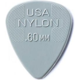 Jim Dunlop 12-Pick Player Pack .60mm Nylon Standard Guitar Plectrums