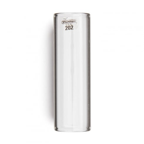 Jim Dunlop 202 Pyrex Glass Slide Regular Wall, Medium Size