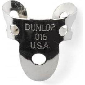 Jim Dunlop 4 x Metal Nickel .015 Finger Pick and 1 x Thumb Pick