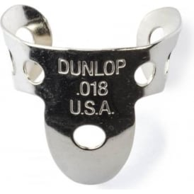 Jim Dunlop 4 x Metal Nickel .018 Finger Pick and 1 x Thumb Pick