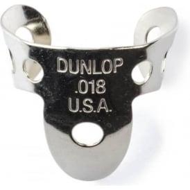 Jim Dunlop 4 x Metal Nickel .018 Finger Pick and 1 x Thumb Pick