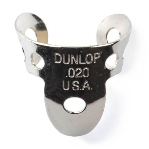 Jim Dunlop 4 x Metal Nickel .020 Finger Pick and 1 x Thumb Pick