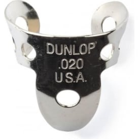 Jim Dunlop 4 x Metal Nickel .020 Finger Pick and 1 x Thumb Pick