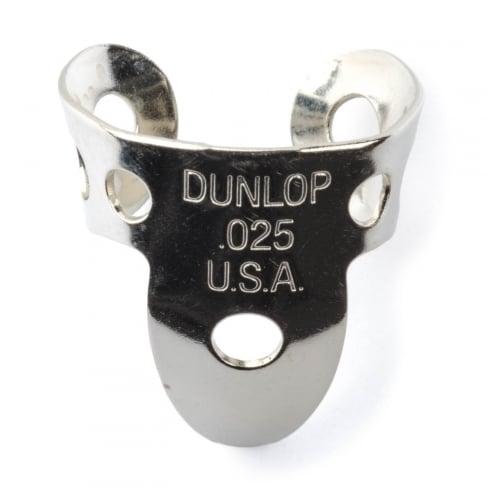 Jim Dunlop 4 x Metal Nickel .025 Finger Pick and 1 x Thumb Pick