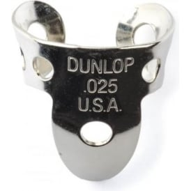 Jim Dunlop 4 x Metal Nickel .025 Finger Pick and 1 x Thumb Pick