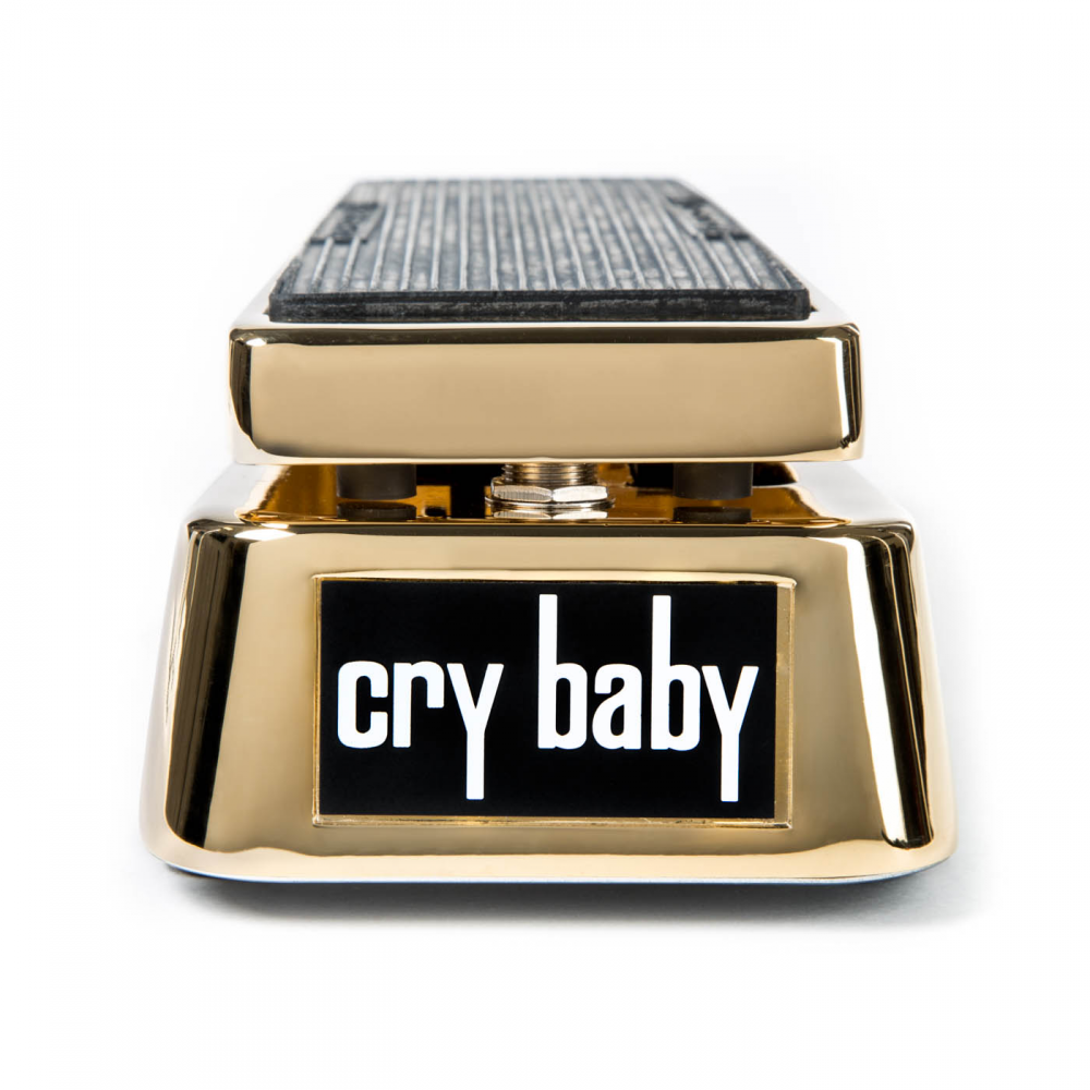 jim dunlop 50th anniversary gold plated crybaby limited wah pedal. Black Bedroom Furniture Sets. Home Design Ideas