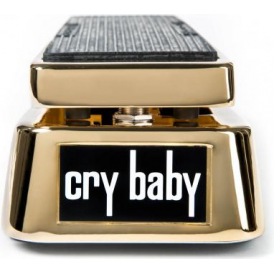 Jim Dunlop 50th Anniversary Gold Plated Cry Baby Limited Guitar Wah Pedal
