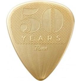 Jim Dunlop 50th Anniversary Nylon Guitar Pick Pack 12-Picks - .73mm Gauge Plectrums