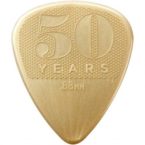 Jim Dunlop 50th Anniversary Nylon Guitar Pick Pack 12-Picks - .88mm Gauge Plectrums