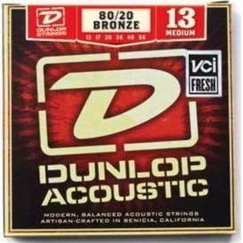 Jim Dunlop 80/20 Bronze Acoustic Guitar Strings 13-56 Medium
