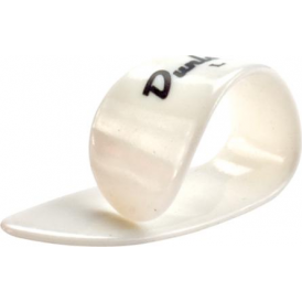 Jim Dunlop 9013R White Lefthanded Single Thumb Pick Large