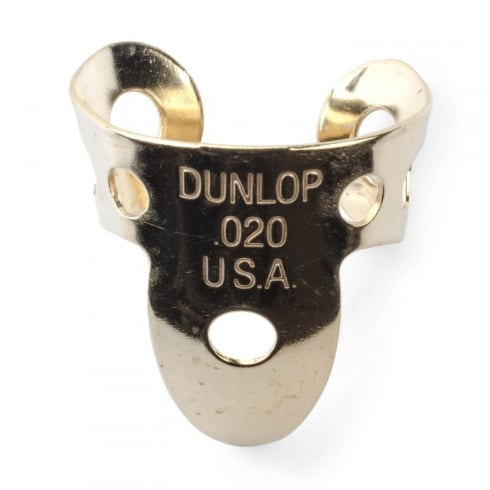 Jim Dunlop Brass Single Guitar Finger Pick .020