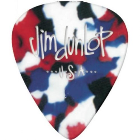 Jim Dunlop Celluloid Confetti Heavy Gauge 12-Pack of Plectrums